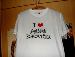 I love spisska borovicka shirt by Klaudiqa-scarry-doll