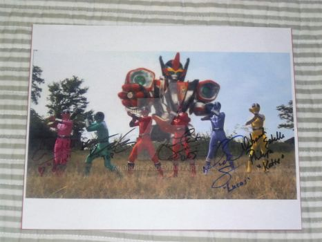 My Time Force autograph by Andruril93