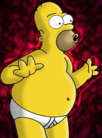 Homero Sexy by kingofmagik