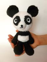 Crochet Panda Bear Amigurumi by MegaCherrio