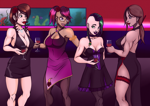 Girls Night by VeXeDZERO