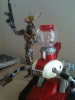 Custom MST3K Crow and Tom Servo by SmashDick247