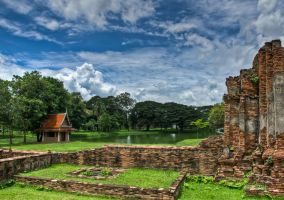 Ayutthaya Temple Complex 2 by JBord