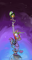 The Stranded on the Tiniest Planet by Ginny-N