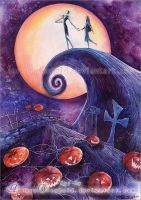 The Nightmare Before Christmas by AuroraWienhold