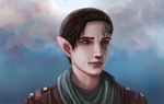 DAI: Inquisitor Lavellan - overpaint by R-Aters