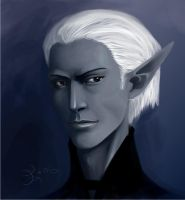 Dark Elf male by Untitliel