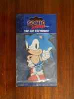 Classic Sonic Car Air Freshener by BoomSonic514