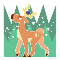 PKMN - Stantler by Versiris