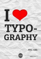 Typography by monographic
