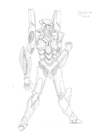 (Not) the End of Evangelion: Unit-01 by SethHM