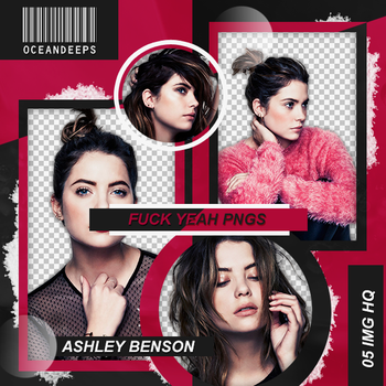 Pack Png 100: Ashley Benson. by Oceandeeps