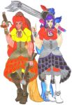 Fiery Pirate Ladies for DBCDude01 by Clipperwhiz1