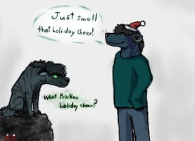 Some of us are in the spirit. by iamScreepy