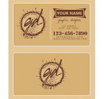 Graphic design business card by Tarja2