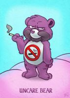 The Uncare Bear by thazumi