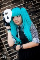 Hatsune Miku - Pokerface Cosplay by springroll97