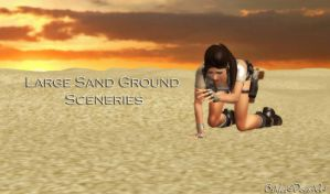 Large Sand Ground Sceneries by bstylez