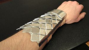 Dragon Scale Vambrace (BUILD YOUR OWN) by Pendant-Peddler