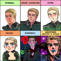 Hetalia - Germany style meme by weaselyperson