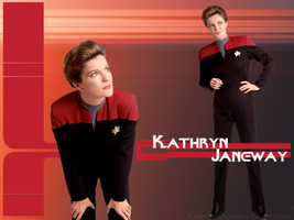 Kathryn Janeway by KadouCreations