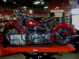 1941 Harley-Davidson Knucklehead by Caveman1a
