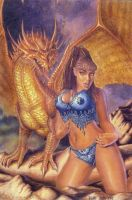 Dragon Queen II by Ricardofantasyart