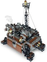 'Tortoise-Class' Siege Steam Octo-Pedalship Mk. LX by RRaillery