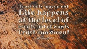 Trust Only Movement - Quote by vhartikainen
