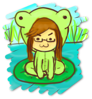 Hope frog LOL by TheHopeMaker