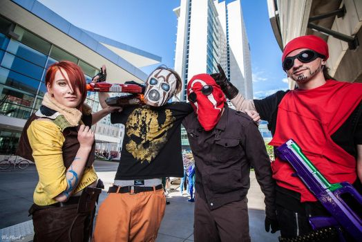 Borderlands Group by Chauncaaa