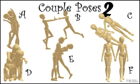 .:: MMD DL ::. Couple Poses 2 by M1keow