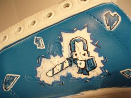 Castle Crashers shoe1 WIP by ItsmeJonas