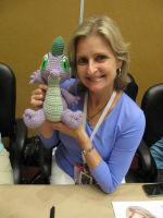 Spike with Cathy Weseluck by NerdyKnitterDesigns