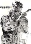 My pencil draw -BIG BOSS- from METAL GEAR SOLID 3 by GabrielArtist