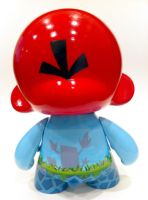 Angry Birds Munny -back by Daeo