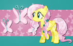Crystal Fluttershy WP 1 by AliceHumanSacrifice0