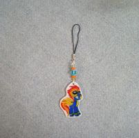 MLP Spit Fire Cell Phone Charm FOR SALE by AmyAnnie14