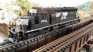 NS SD40-2 by 3window34