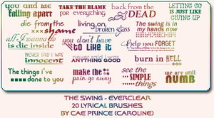 The Swing - Everclear by artsy-cae
