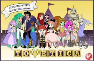 TOYETICA POSTERS AT NYCC! by sadwonderland
