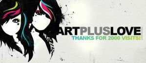 2.000 Pageviews by ARTPLUSLOVE