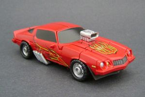 Hot Rod 2 by Jin-Saotome