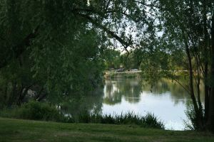 Lake scene 2 by AmbiePetals-Stock