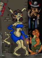 Pika-Whore Colored by Waste-Oid
