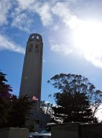Coit Tower by MaxHedrm0