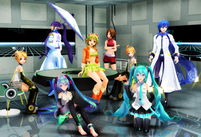 .: DIVAs From the Future :. by segawa2580