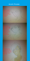 Painting Process by NatWithLeCopic