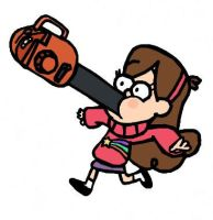 Gravity Falls: Leaf Blower Accident by Closer-To-The-Sun