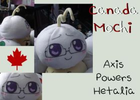APH- Canada Mochi Plush by rosey-so-silly